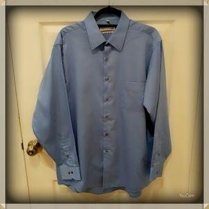 Geoffrey Beene Dress Shirt - Blue